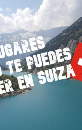 5 lugares que no te puedes perder en Suiza